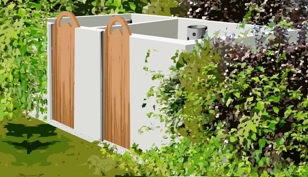 Construire Un Composteur En Parpaing Plan De Construction