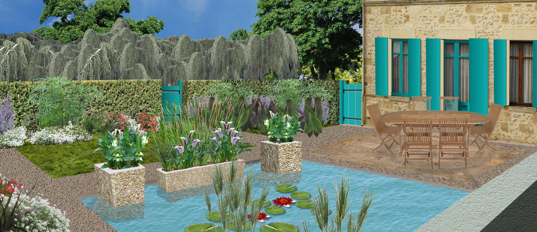 créer un jardin d eau plan de jardin d eau