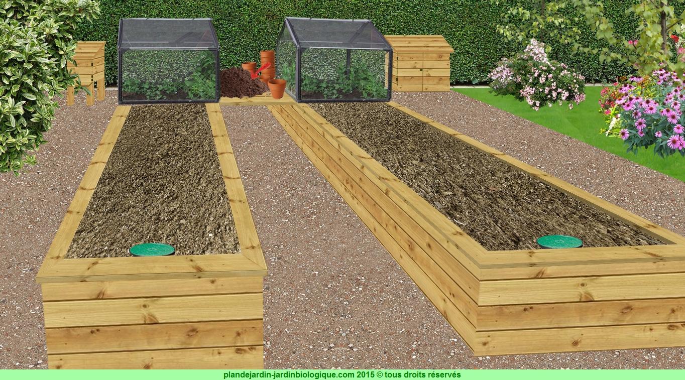 Cr er un jardin pour personne handicap e - Que peut on mettre dans un composteur de jardin ...