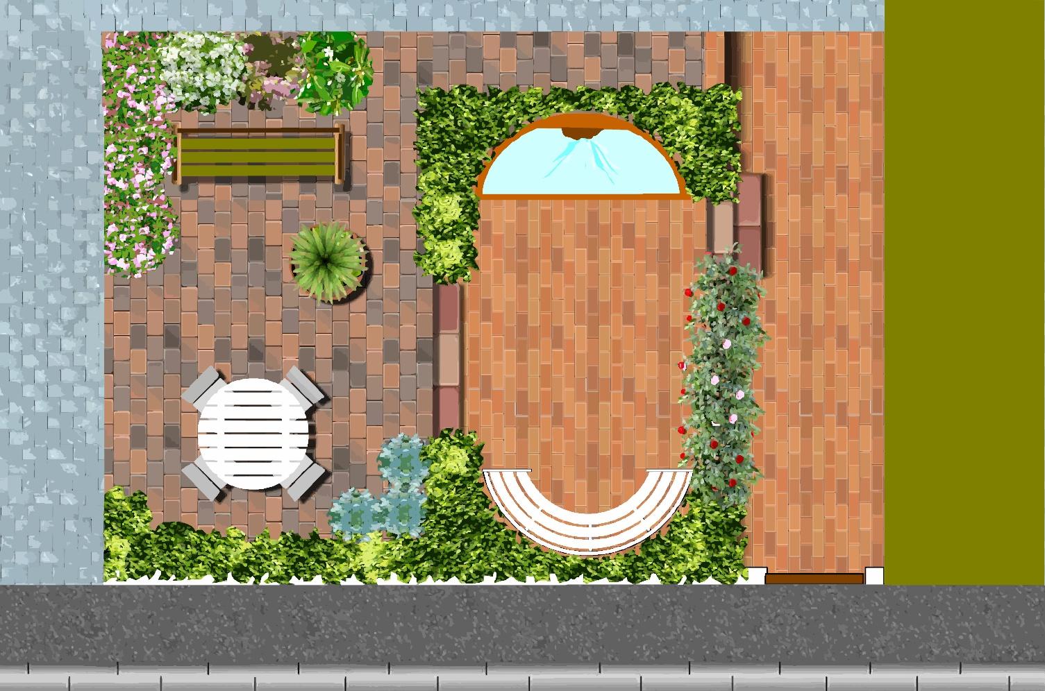 Jardin urbain cr er un petit jardin de ville - Plan de jardin ...