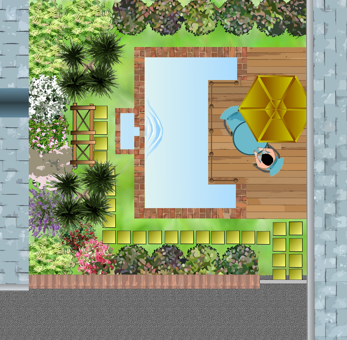 Massif d arbustes pour un petit jardin for D jardin