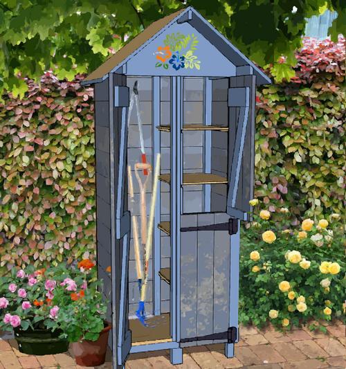 Stunning armoire de jardin plan contemporary ridgewayng for Armoire pvc jardin