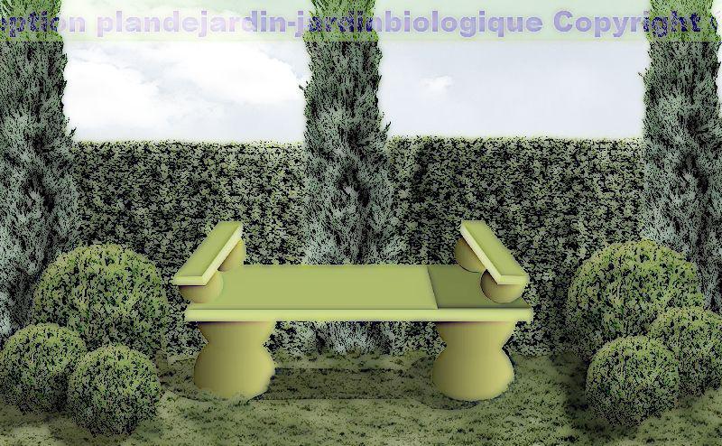 Banc de jardin si ges de jardin faire soi m me for Plan de banc de jardin