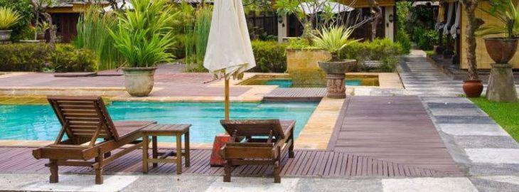 faire un jardin autour d une piscine planter les abords d. Black Bedroom Furniture Sets. Home Design Ideas