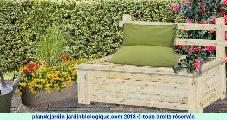 faire un coffre de jardin plan de montage. Black Bedroom Furniture Sets. Home Design Ideas