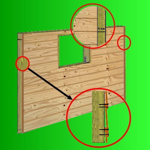 plan cabane bois de jardin+ abri jardin bois+cabanes à outils+cabane ...