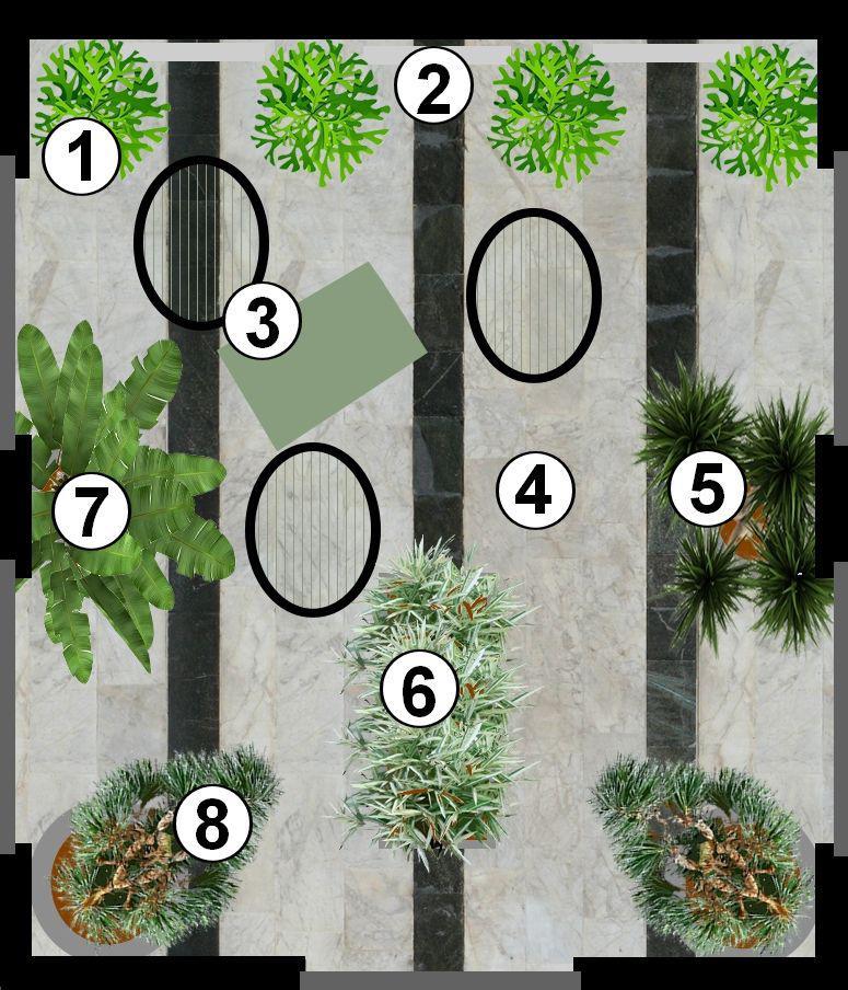Patio Contemporain: Jardins Pour Patios : Plans