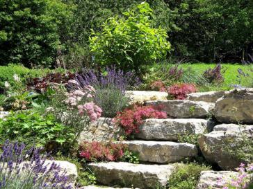 Escalier De Jardin En Pierre escalier de jardin en béton : plan de coffrage