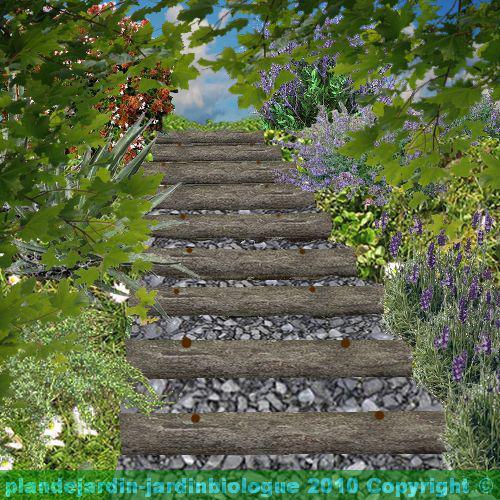 emejing monter un escalier de jardin photos awesome interior home satellite. Black Bedroom Furniture Sets. Home Design Ideas