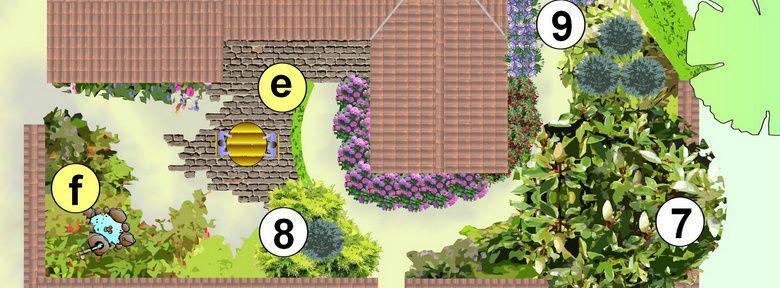 Am nager ses espaces verts faire son plan de jardin for Amenagement jardin 200m2