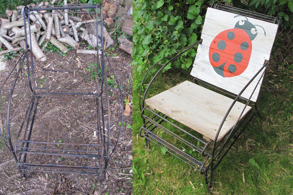 Deco Jardin Avec De La Recup des idées de décoration du jardin bio avec de la récup'