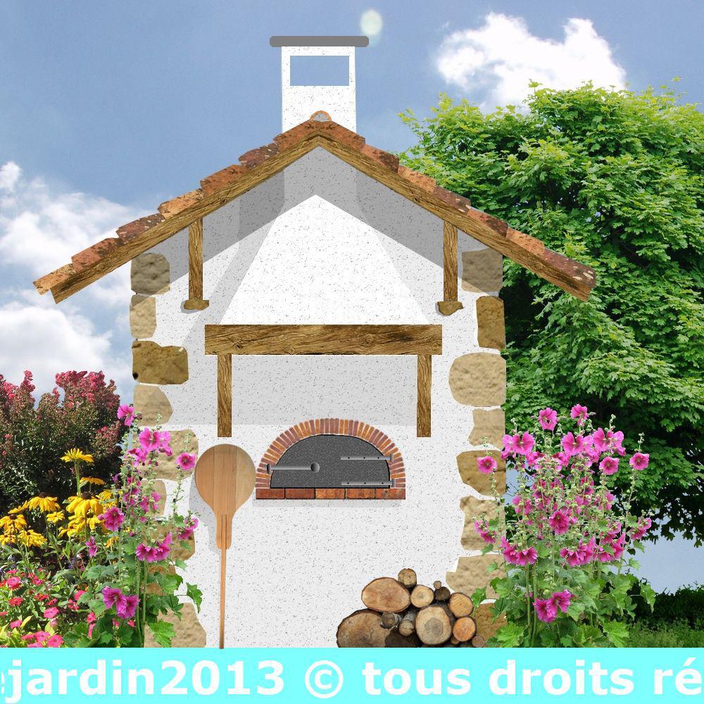 Construire Un Foyer Extérieur construction d'un four à bois au jardin avec plans: