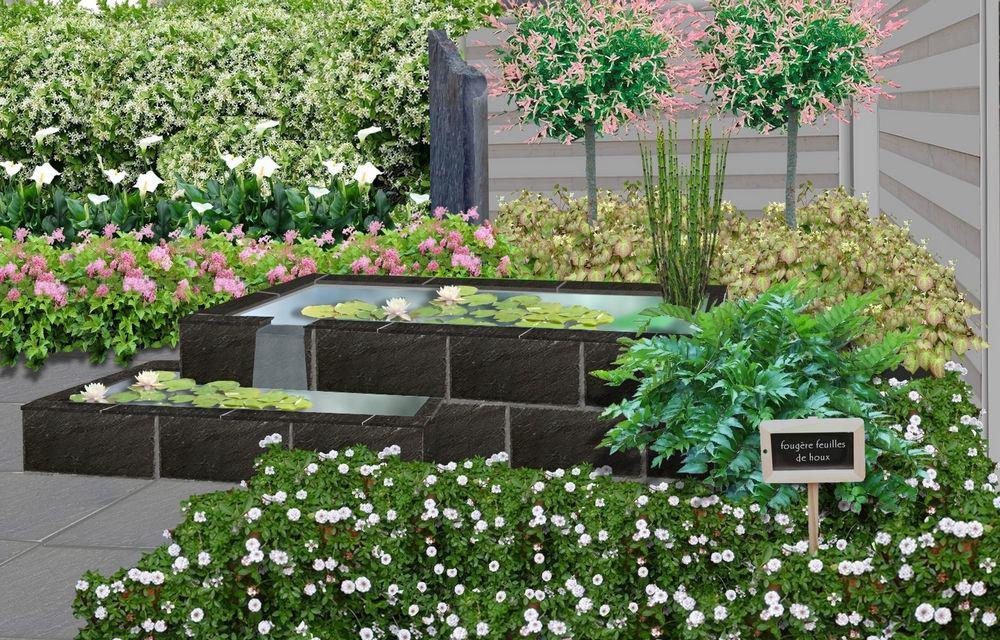 Am nager un jardin d 39 ardoises for Ardoise concassee pour jardin