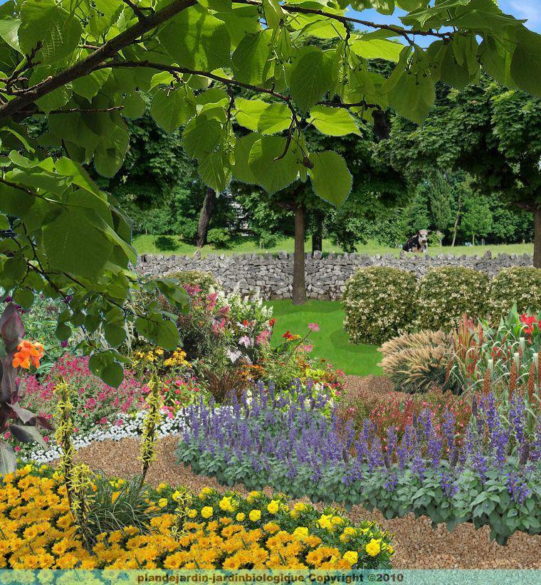 Jardin rural cr er un jardin de campagne for Creer son jardin gratuit