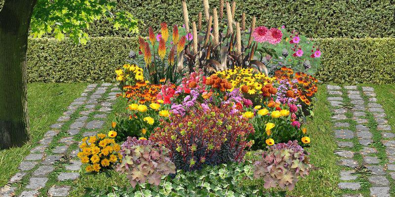 un jardin de fleurs à couper: jardin de fleuriste