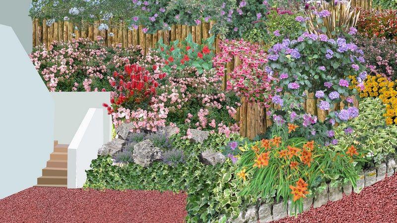 Amenagement Jardin En Pente Jardin En Pente Douce Jardin A Forte Pente