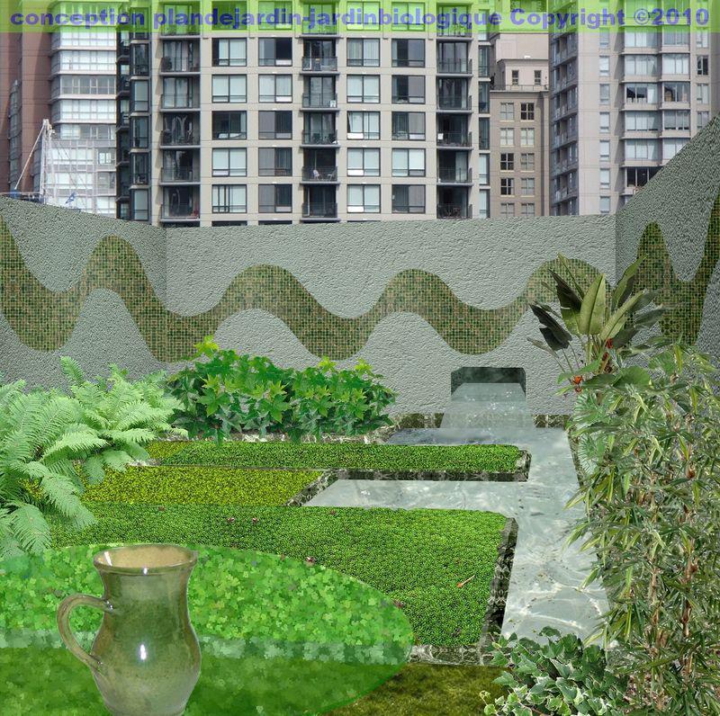 Cr er un jardin moderne le paysage contemporain - Creer un jardin contemporain ...