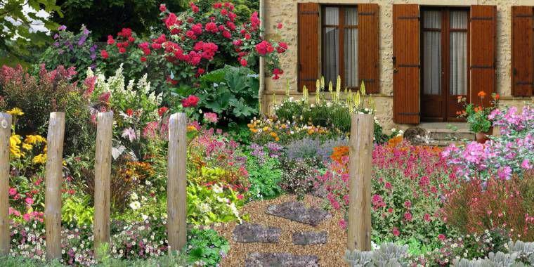 jardin romantique cr er un jardin romantique. Black Bedroom Furniture Sets. Home Design Ideas