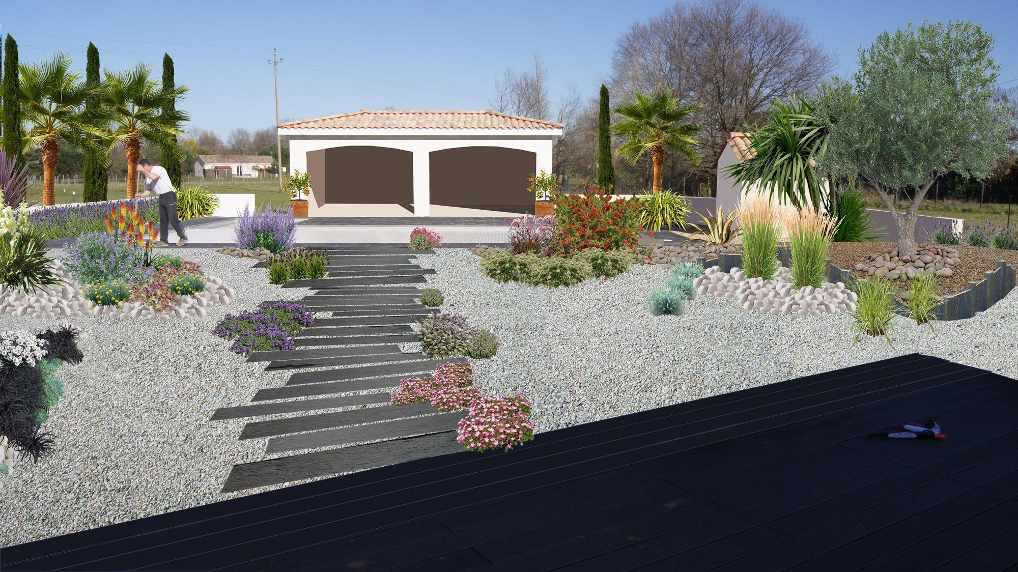 Idee Amenagement Tour De Piscine faire un jardin autour d'une piscine, planter les abords d