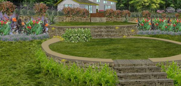 des terrasses en parpaings enduits dun monocouche choisissez un ton neutre couleur pierre par exemple surtout pas de blanc si le jardin est expos