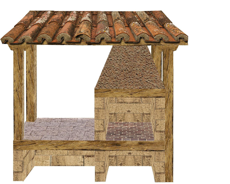 construire un barbecue barbecue en pierre. Black Bedroom Furniture Sets. Home Design Ideas