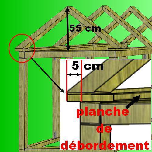 Plan cabane bois de jardin abri jardin bois cabanes for Plan cabine de plage en bois