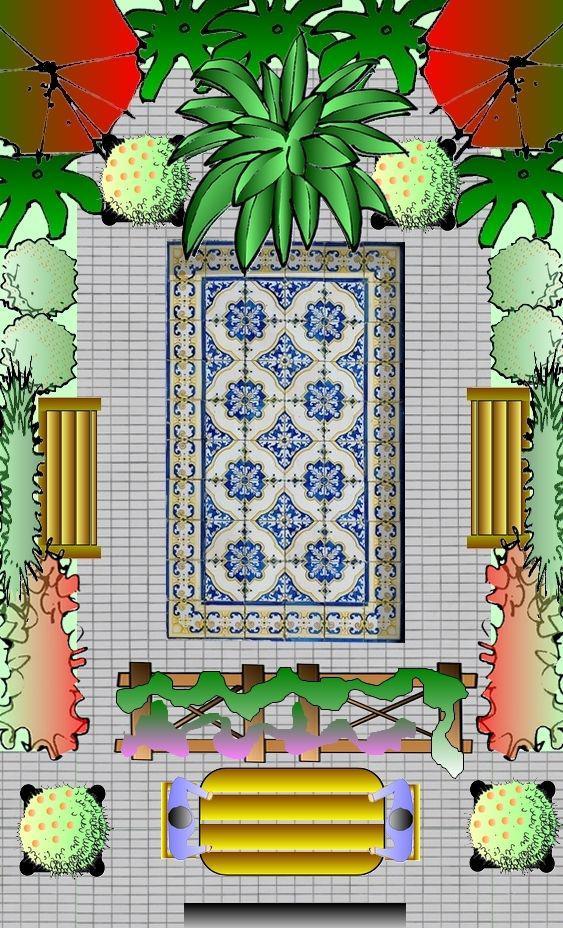 Jardin mauresque plan de jardin mauresque - Plan de jardin ...