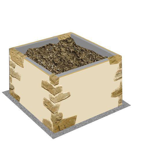 construction d 39 un four bois au jardin avec plans. Black Bedroom Furniture Sets. Home Design Ideas