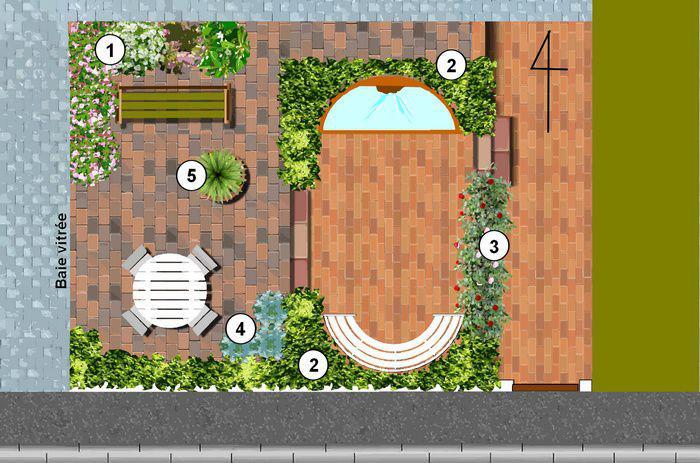 jardin urbain cr er un petit jardin de ville. Black Bedroom Furniture Sets. Home Design Ideas