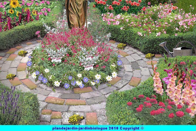 Plan de jardin de cur for Exemple de plan de jardin