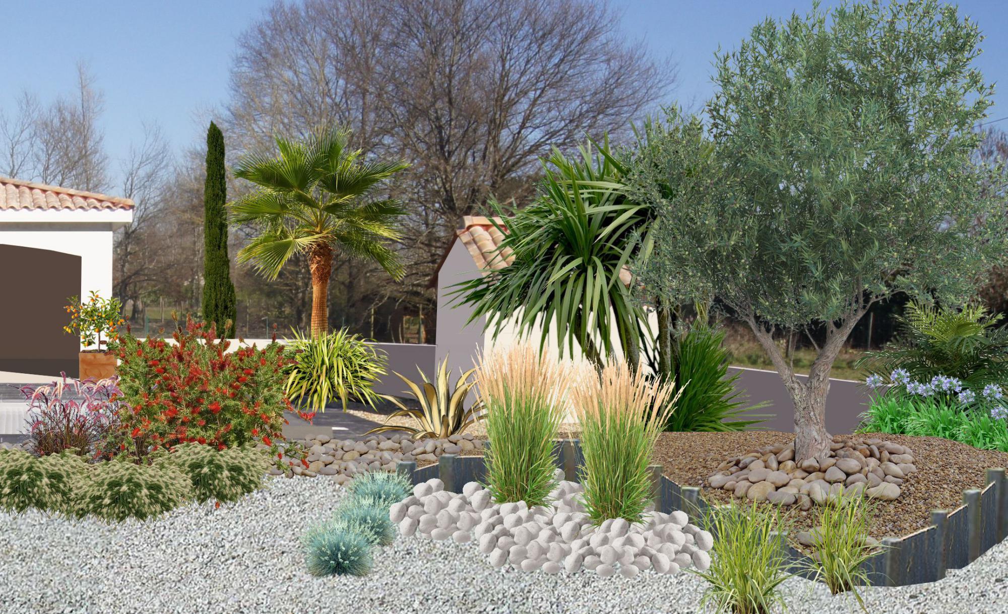 Faire un jardin autour d une piscine planter les abords d - Quel arbre pour petit jardin ...