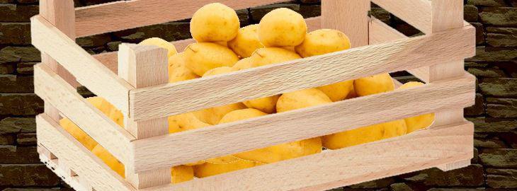 conservation des pommes de terre du jardin. Black Bedroom Furniture Sets. Home Design Ideas