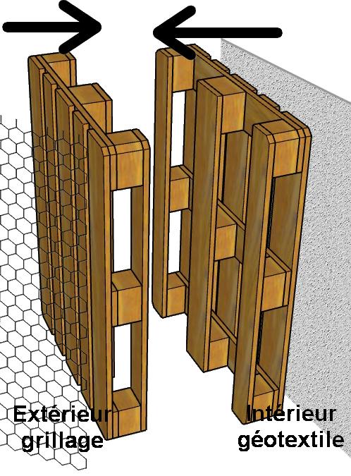 comment construire un bassin au jardin avec des palettes. Black Bedroom Furniture Sets. Home Design Ideas