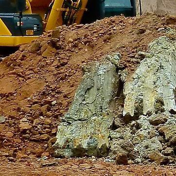 Faire un potager bio sur une terre de remblai - Differente couche de la terre ...