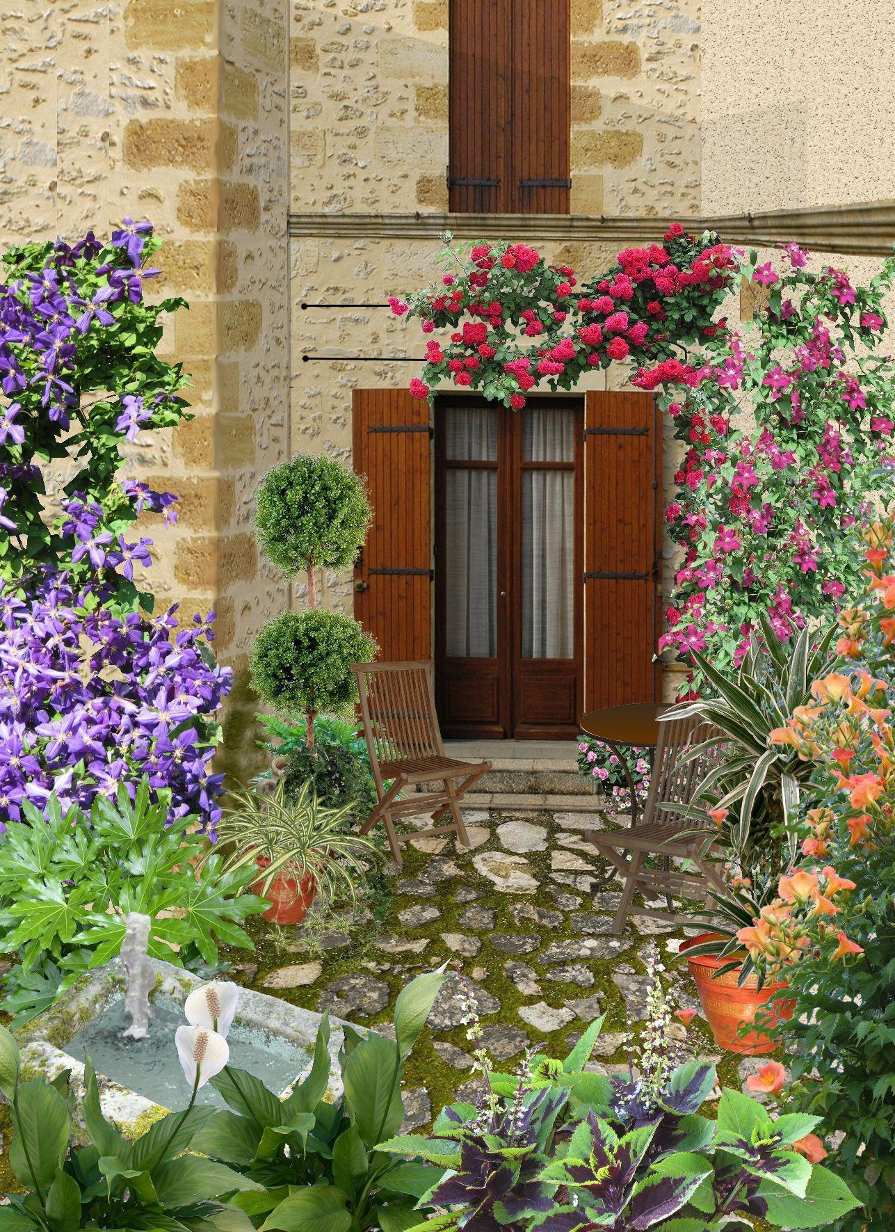 Cr er un tr s petit jardin de 20 m2 - Amenagement jardin petite surface ...